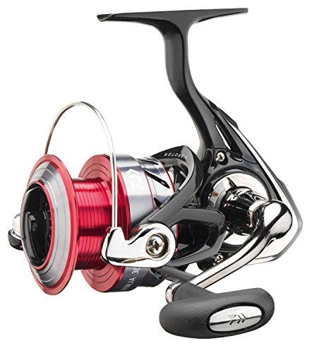 Daiwa Ninja 3000 A, Spinning Angelrolle mit Frontbremse, 10218-300